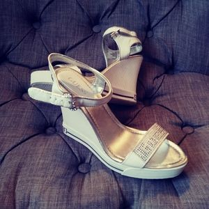 Authentic! Guess Wedge Shoes